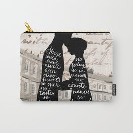Persuasion Anne and Captain Wentworth Carry-All Pouch