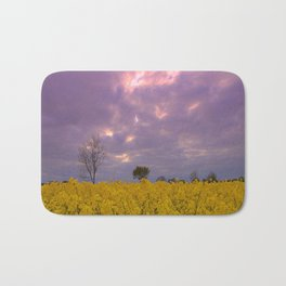 Blooming in yellow # Bath Mat