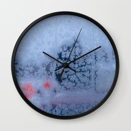 Cold Outside Wall Clock