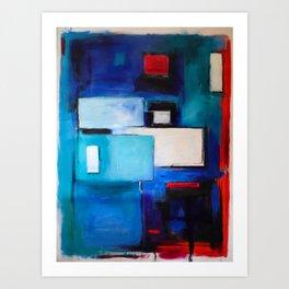 GeometrySquared Art Print