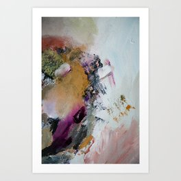 sonnet xv abstract #2 Art Print