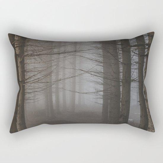 In the still forest Rectangular Pillow