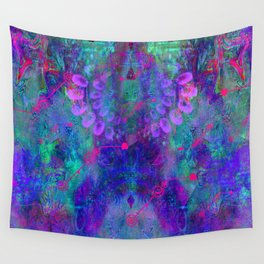 Beyond Purple Haze Wall Tapestry