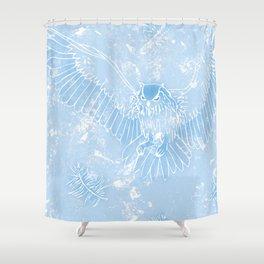 A Mild Breeze (Sky Blue) Shower Curtain