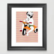 Easy rider Framed Art Print