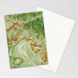 Green Onyx Stationery Cards