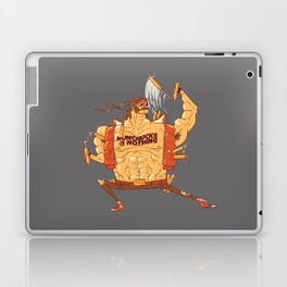 Nunchucks or Nothing! Laptop & iPad Skin