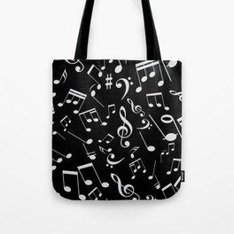 Musical Notes 20 Tote Bag