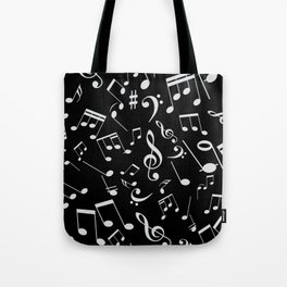 Musical Notes 20 Tote Bag