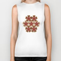 spice Biker Tanks featuring Spice by Shelly Bremmer