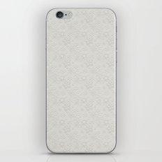 Dancing Snowflakes Pattern iPhone & iPod Skin
