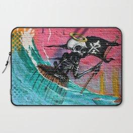 Sailing Skeleton  Laptop Sleeve