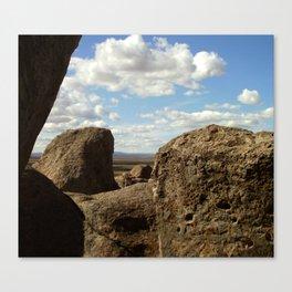 City of Rocks - 3 Canvas Print