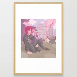 Feels Like a Picnic Framed Art Print