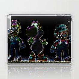 Luigi, Yoschi and Mario Laptop & iPad Skin