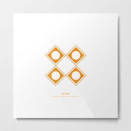 Design Principle SIX - Pattern Metal Print