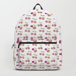 Watercolor cherries Backpack