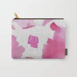 Shades of Pink Abstract 1 Carry-All Pouch