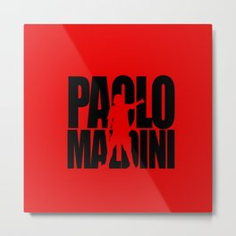 Name: Maldini Metal Print
