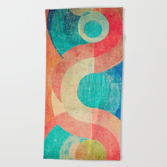 Yin Yang and Something More Beach Towel