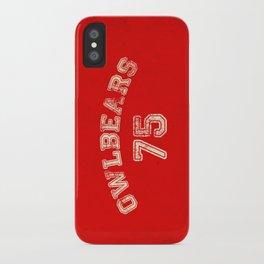 Go Owlbears! iPhone Case