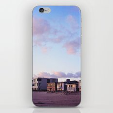 Midcentury Style Homes along the Beach, Sunset Beach, California iPhone & iPod Skin