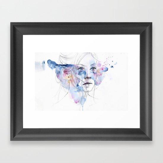water show Framed Art Print
