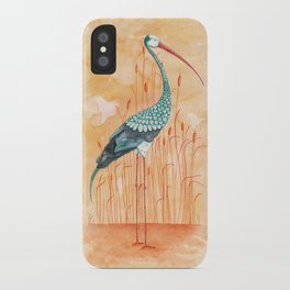 An Exotic Stork iPhone Case