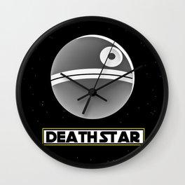 Death Star Poster Wall Clock