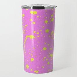 Paint Splash Design by Dominic Joyce Travel Mug