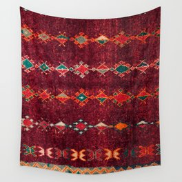 -A8- Colored Traditional Moroccan Carpet Artwork. Wall Tapestry