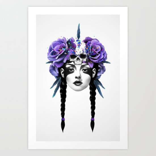 New Way Warrior Art Print