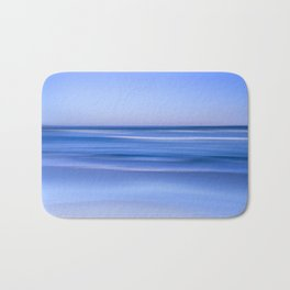 tranquil  blue beach Bath Mat