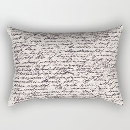 This Letter is for You Rectangular Pillow