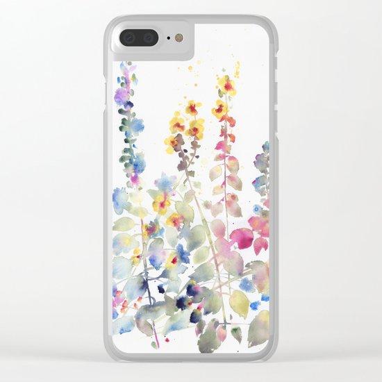 fiori II Clear iPhone Case
