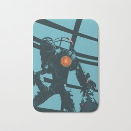 Bioshock 2: Little Sister and Big Sister art Bath Mat