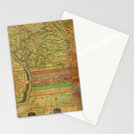 Map of Philadelphia 1802 Stationery Cards