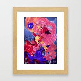 Black Lady Framed Art Print