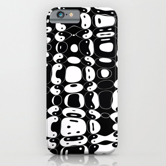 Yin Yang mix (b) iPhone & iPod Case