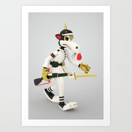War Rat Art Print