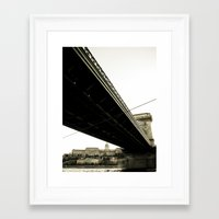 budapest Framed Art Prints featuring Budapest by Javier Sánchez