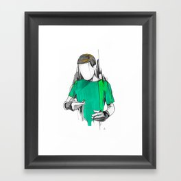Alexis Framed Art Print