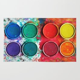 Paintbox Color Palette Rug