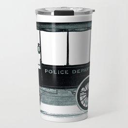 Police car Travel Mug