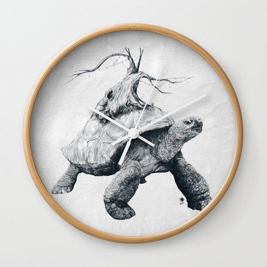 Tortoise Tree Wall Clock