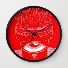 suculenta espacial Wall Clock