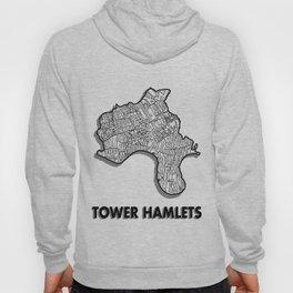 Tower Hamlets - London Borough - Detailed Hoody