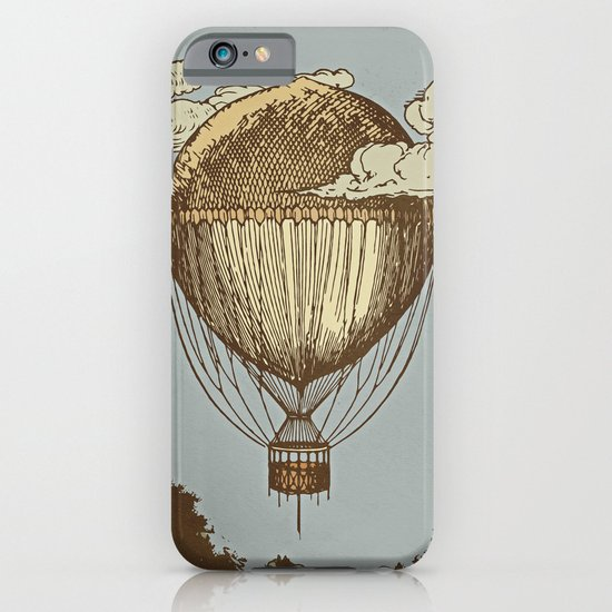 Around the world the incredible Steamballoon iPhone & iPod Case