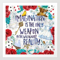 Alice in Wonderland - Imagination Art Print