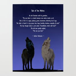 Tale of Two Wolves Poster